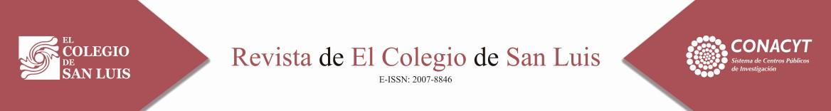 Revista de El Colegio de San Luis